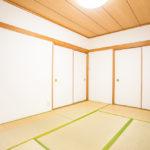落ち着いた雰囲気の和室です。やっぱり和室があると安心しますね。