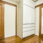 キッチン収納と床下収納が付いています。