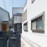 浦安市海楽2丁目一戸建て。陽当たりの良い2階リビングの間取りです。(外観)