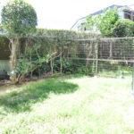 陽当たりの良い専用庭。