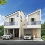 浦安市富士見3丁目新築戸建B号棟。旧江戸川沿いに新築住宅が誕生します。(間取)