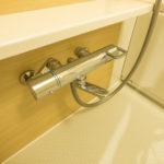 浴室の水栓はサーモ付き水栓です。(風呂)