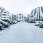 海風の街には使用料無料の専用駐車場が付いています。