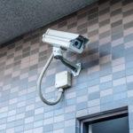 敷地の入口には防犯カメラがあり安心です。