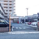敷地内駐車場(機械式)。