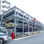 駐車場は機械式駐車場のため車種制限があります。