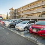 ●駐車場は住戸に対して100%設置されています(機械式駐車場は車種制限があります)。