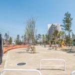 富岡第1街区公園(へび公園)がリニューアルされました。