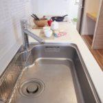リノア南行徳はお部屋の中で使うすべての水を浄水にするセントラル型浄水システムが採用されています。(キッチン)