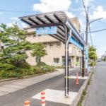 妙典駅前の羽田空港行きバス停まで徒歩15分。