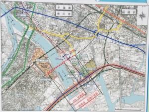 妙典橋map