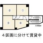 分譲マンションの地下倉庫。(間取)