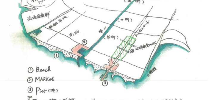 浦安三つの海の物語イメージイラスト1eye