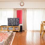 LDKは広々28.9帖。ほこりを巻き上げずにお部屋を温める床暖房付きです。(居間)
