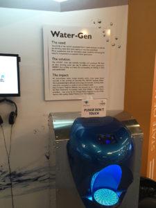 空気から飲み水を作る装置