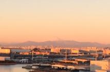 プラウドから望む富士山