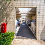 アールフォーラム新浦安にはバイク置場があります。