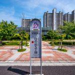 おさんぽバスバス停まで徒歩2分。順天堂浦安病院や浦安市役所まで100円で行くことができます。(周辺)
