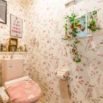 1階洗浄便座付きトイレ。
