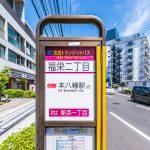 本八幡駅、行徳駅行きバス停まで徒歩11分。(周辺)
