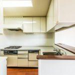 L型システムキッチン。家事動線に優れた2WAYキッチンです。(キッチン)