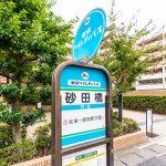 東京ベイ浦安・市川医療センター行きバス停まで徒歩2分。