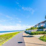 海沿いの遊歩道まで徒歩2分。お散歩コースやジョギングコースにいかがでしょうか。