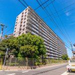 サニーハウス南行徳B棟のご紹介です。住環境も良いマンションへお住み替えはいかがでしょうか。(外観)
