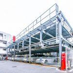 駐車場は機械式のため、車種制限があります。