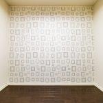 洋室3は落ち着いた雰囲気のお部屋です。壁のアクセントがおしゃれです。(子供部屋)
