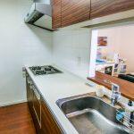 人気のカウンターキッチン。食洗機、ビルトイン浄水器などの設備が充実しています。(キッチン)