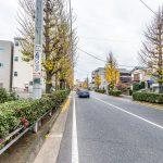 大三角線(バス通り)沿いの新築住宅。舞浜駅行きバス停まで徒歩1分。新浦安駅行きバス停まで徒歩3分。(周辺)