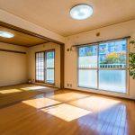 京成サンコーポ浦安、空室物件のご紹介です。室内をゆっくりとご覧いただけます。(居間)