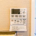 浴室にはミストサウナ機能付ガス浴室暖房乾燥機が付いています。(風呂)