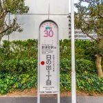 お散歩バスバス停まで徒歩1分。浦安市役所まで100円で行くことができます。(周辺)