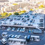 ライオンズマンション南市川の駐車場は自走式立体駐車場です。