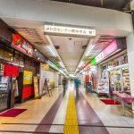原木中山駅前のメトロセンターまで徒歩6分。(周辺)