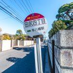 本八幡駅行きバス停まで徒歩4分。(周辺)