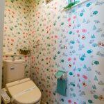 2階洗浄便座付きトイレ。(内装)