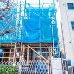2019年3月17日撮影。建物が建ちあがりました。(外観)