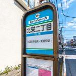 新浦安駅行きバス停まで徒歩2分。(周辺)