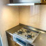 お料理の幅が広がるシステムコンロ。(キッチン)