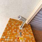 美浜東エステートの敷地内には防犯カメラが設置されています。