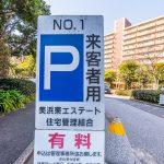 美浜東エステートには来客用駐車場があります。