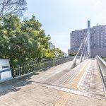 美浜東エステートは陸橋を利用すれば、信号待ちなしで新浦安駅まで行くことができます。(周辺)