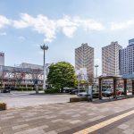 新浦安駅前のタクシー乗り場まで徒歩2分。イオンまで徒歩4分、アトレまで徒歩2分などお買い物も便利です(周辺)