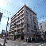 南行徳駅徒歩14分、浦安駅徒歩20分、一之江駅徒歩17分、江戸川リバーサイドマンションのご紹介です。(外観)