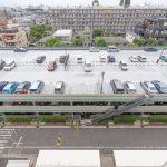 行徳ハイムの駐車場は自走式立体駐車場です。