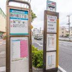 JR京葉線新浦安駅、舞浜駅、テーマパーク行きバス停まで徒歩5分。(周辺)