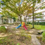 入船西エステートの敷地内には公園があります。(周辺)